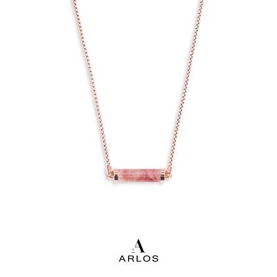 草莓晶CC頸鏈