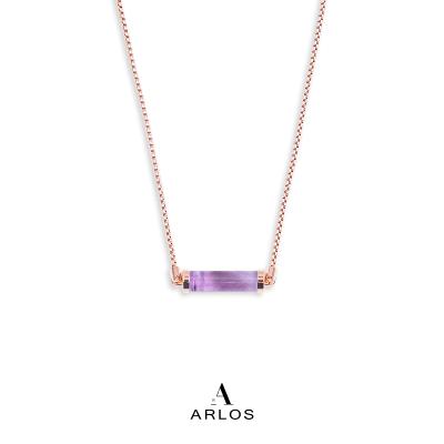 薰衣草紫水晶CC頸鏈