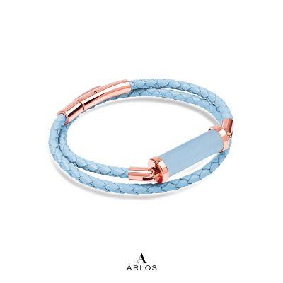 海藍寶CC皮繩 (雙圈)