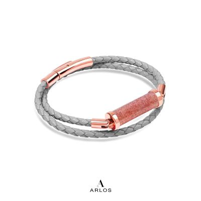 草莓晶CC皮繩 (雙圈)