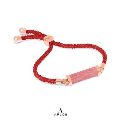 紅紋石CC編織手繩