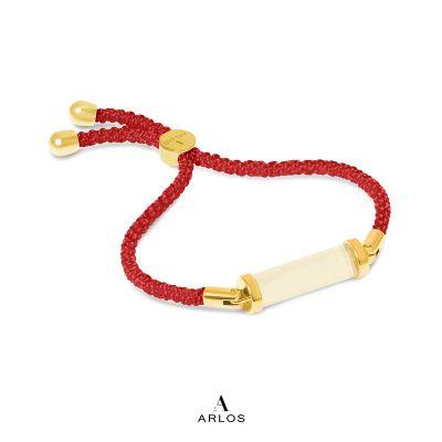 黃電水晶CC編織手繩