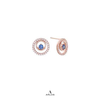 Aloha 藍寶石耳環