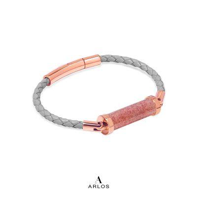 草莓晶CC皮繩 (單圈)