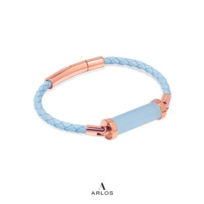 海藍寶CC皮繩 (單圈)