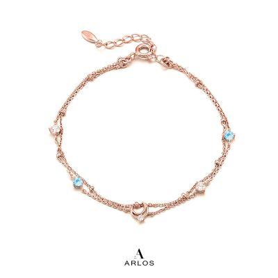 L'amour 玫瑰金星辰手鏈