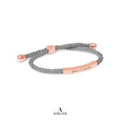 Le Tien 編織手繩 - 灰色
