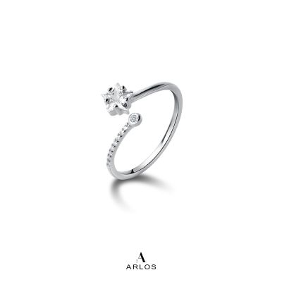 閃爍星星開口戒指